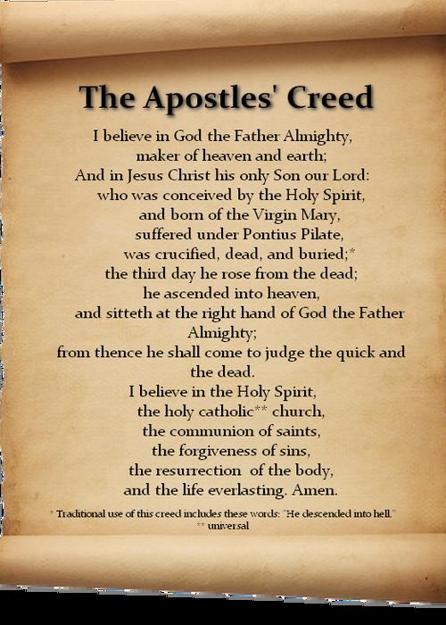 Den apostoliske trosbekjennelsen