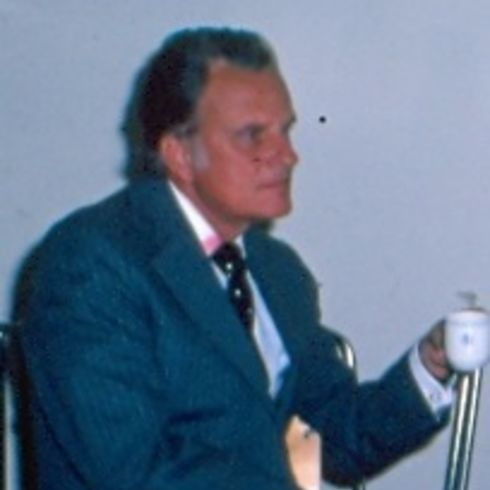 Billy Graham: - Fred til sist!