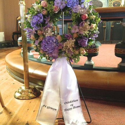Begravelse etter Anna Kristensen