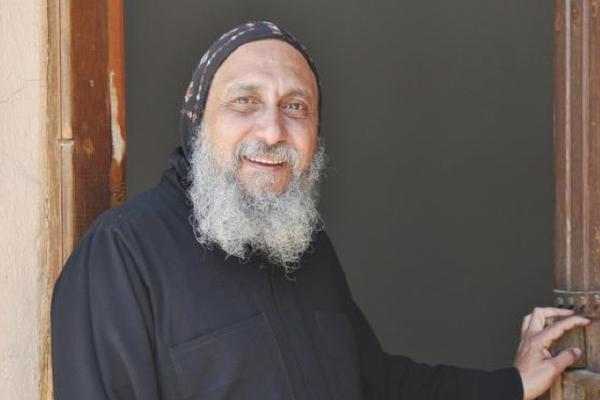Den koptiske biskop Thomas av Egypt