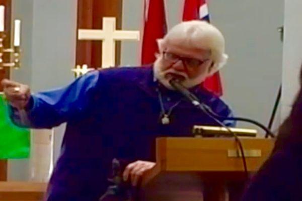 Chuck Pierce formidlet et ord til Oslo, Norge og Europa