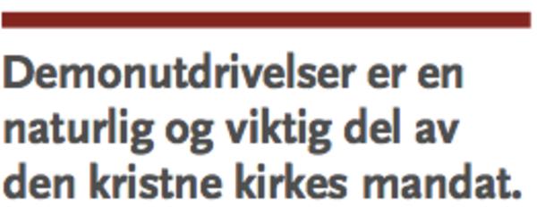 Morgenbladet - «Vil ondt fordrive»