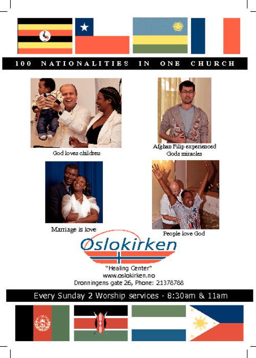 Ny presentasjon av Oslokirken