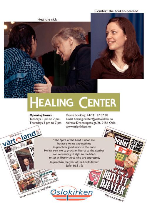 Ny presentasjon av Healing Center
