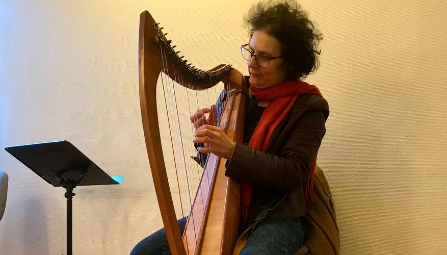 Messiansk jøde spilte harpe og profeterte
