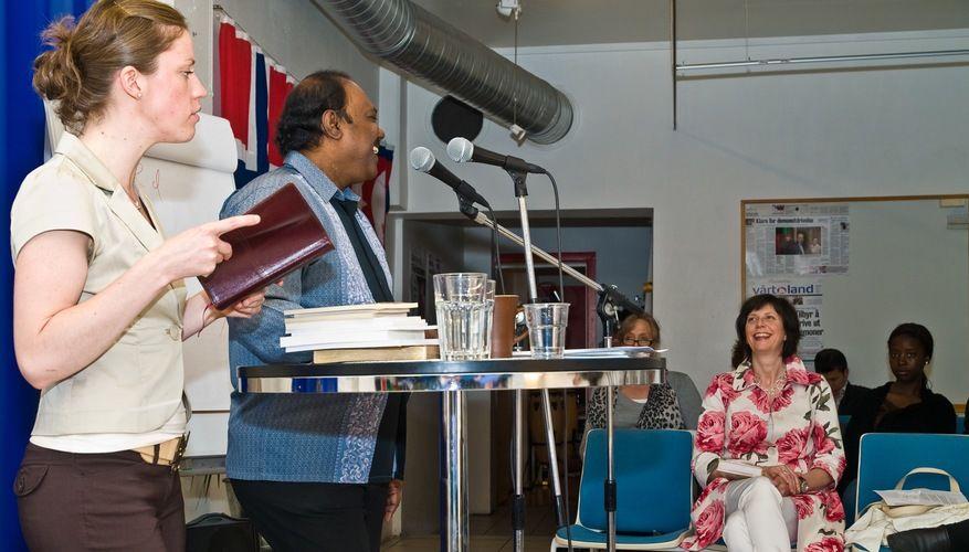 Bibelseminar med Dr. Chandra