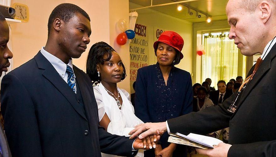 Kenya-bryllup i Oslokirken