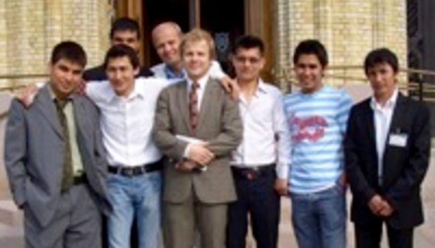 Afghaner-møte med Heikki Holmås på Stortinget