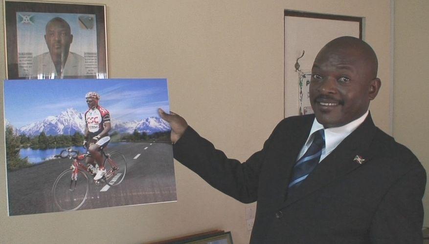 En dag med Burundis President