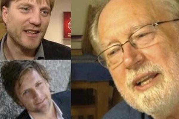 Levi Fragell, Espen Ottosen og Andreas Hegertun angriper