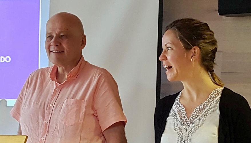 Pastor Jan-Aage talte om Rettferd