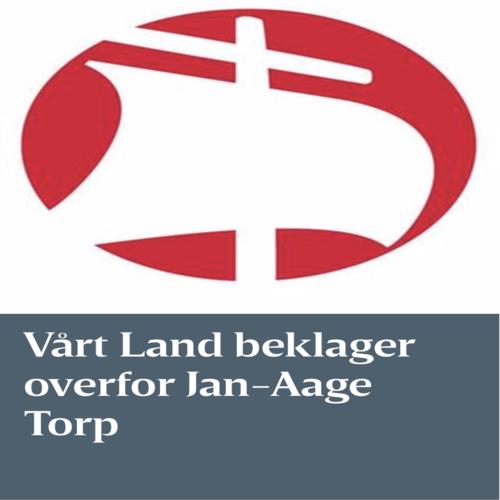 Vårt Land beklager overfor Torp og Oslokirken