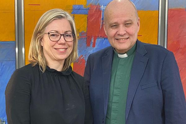 Pastor Torp TV-samtaler med Aftenpostens sjefredaktør Trine Eilertsen i «Hovedstaden»